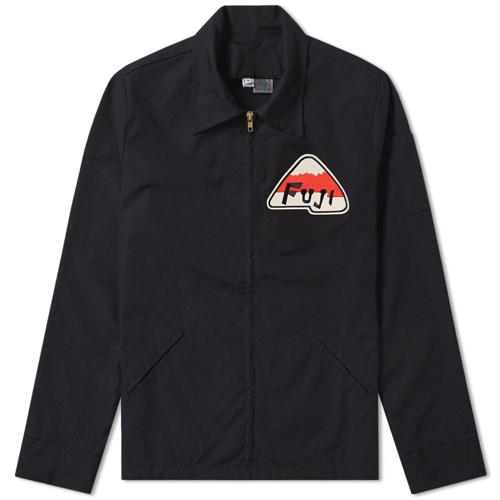 Photo: Ebbets Field Flannels Fuji Athletic Club Ground Crew Jacket
