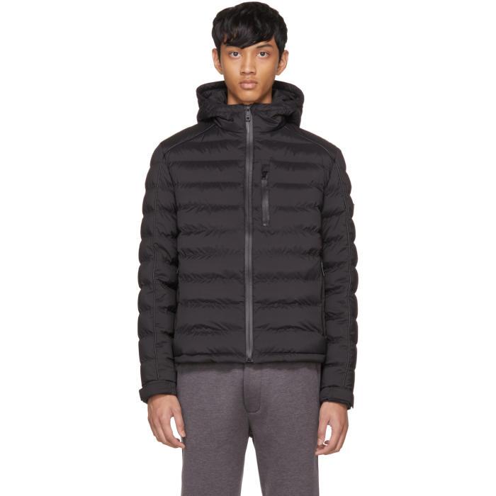 Photo: Prada Black Down High Neck Puffer Jacket