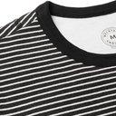 Belstaff - Gurnard Striped Brushed-Cotton Jersey T-Shirt - Black