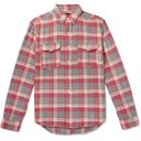 RRL - Checked Cotton-Flannel Shirt - Men - Red