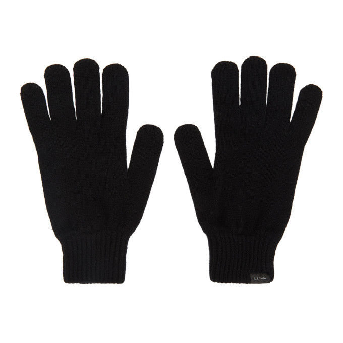 Photo: Paul Smith Black Cashmere Gloves