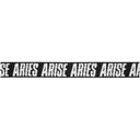 Aries Black Logo Webbing Belt
