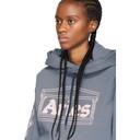 Aries Blue 2 Chains Hoodie