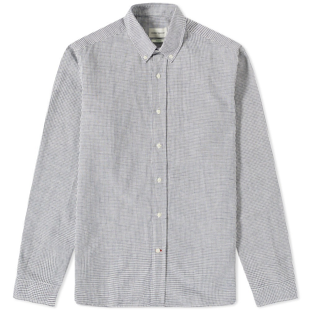 Photo: Oliver Spencer Button Down Brook Check Shirt