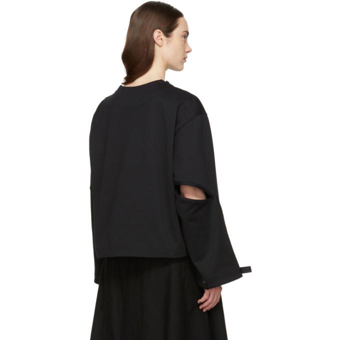 Y-3 Black Zipper Sweatshirt