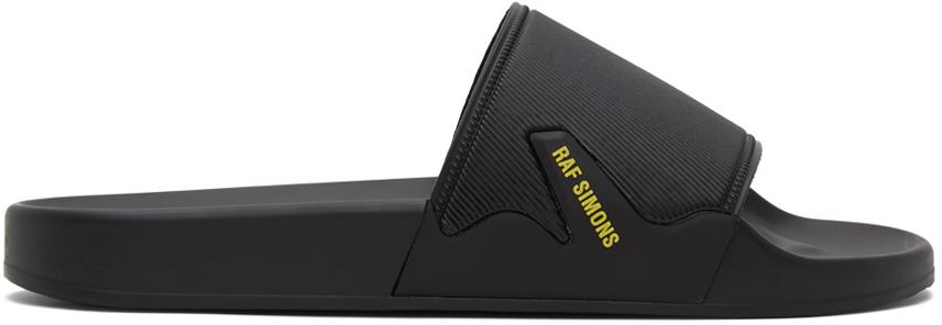 Raf Simons Black Astra Slides