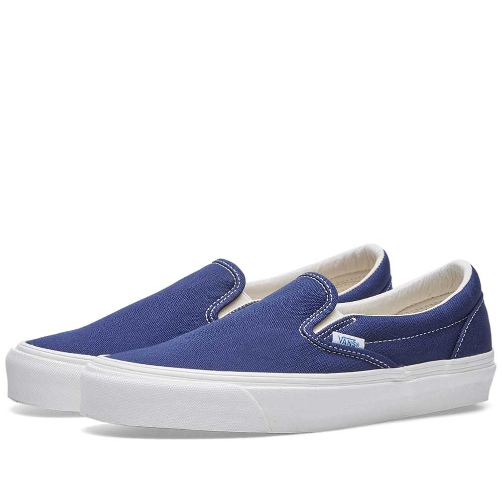 Photo: Vans Vault OG Classic Slip On LX Blue