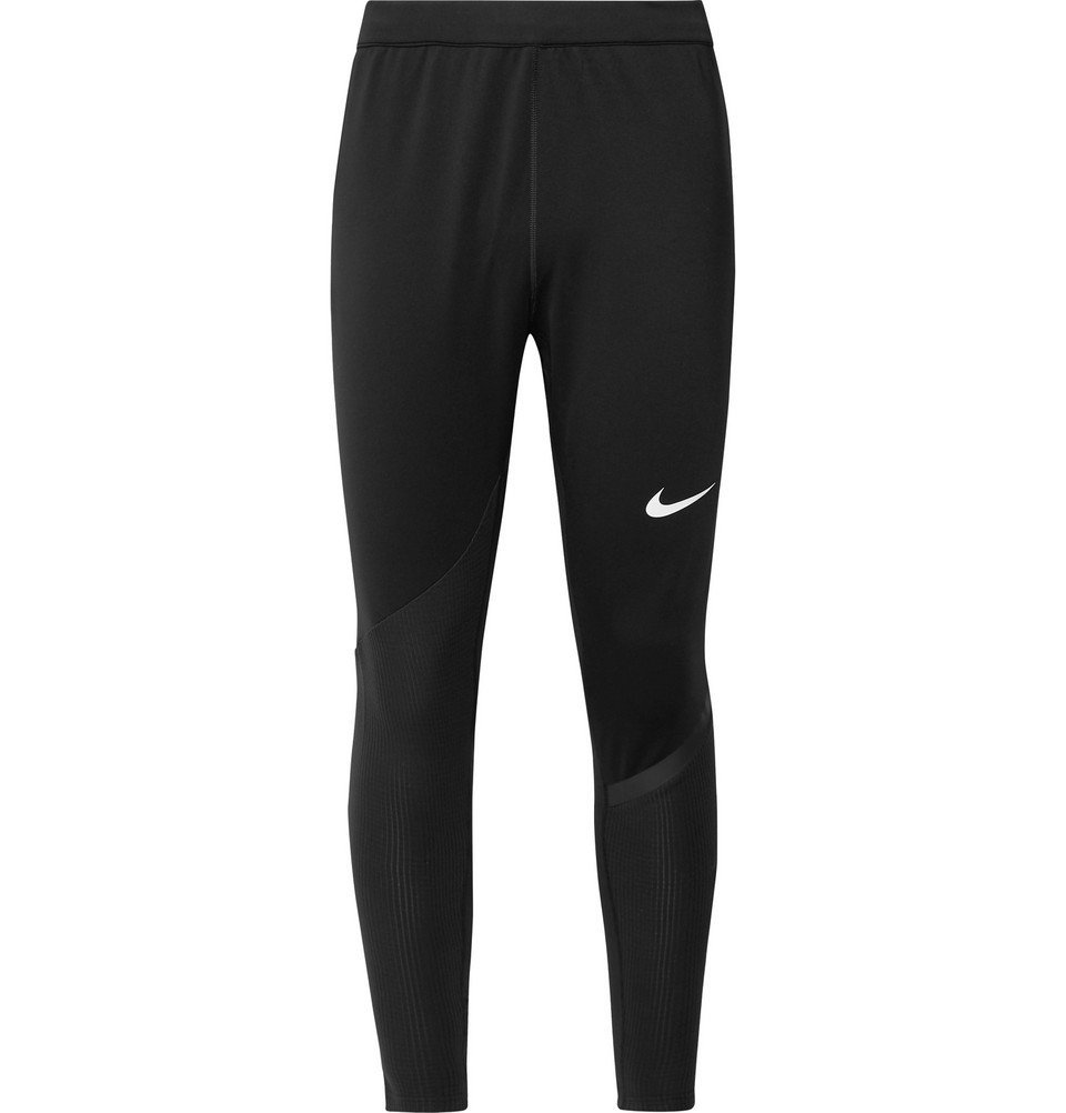 Photo: Nike Training - Pro Rib-Panelled Dri-FIT Tights - Black