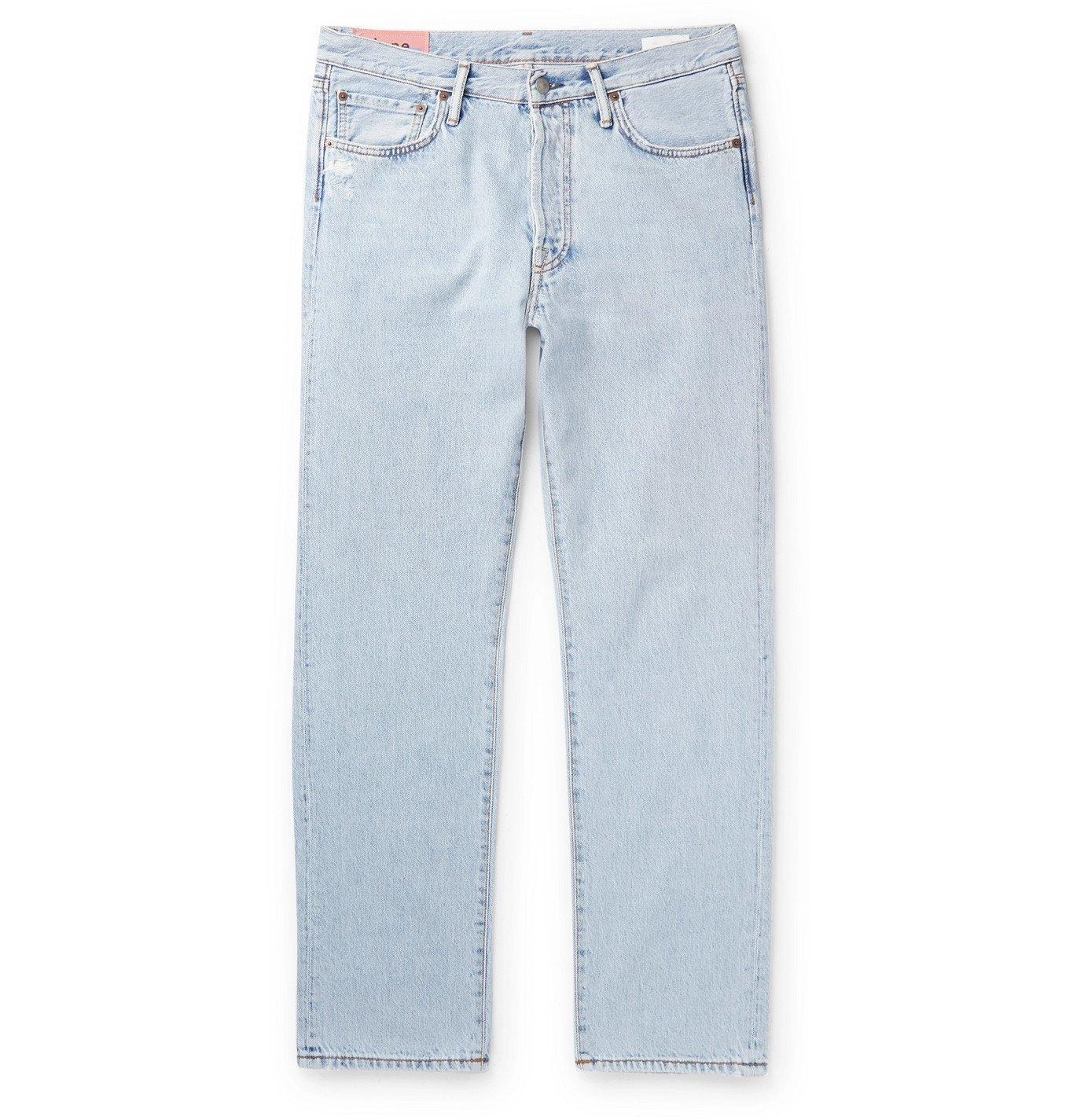 Photo: Acne Studios - Stonewashed Denim Jeans - Blue