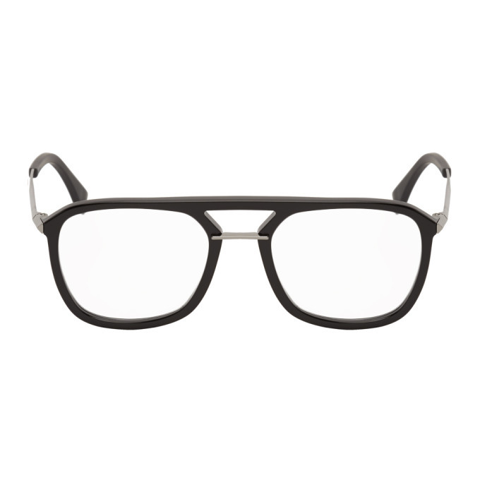 Photo: Fendi Black Forever Fendi Bridge Glasses
