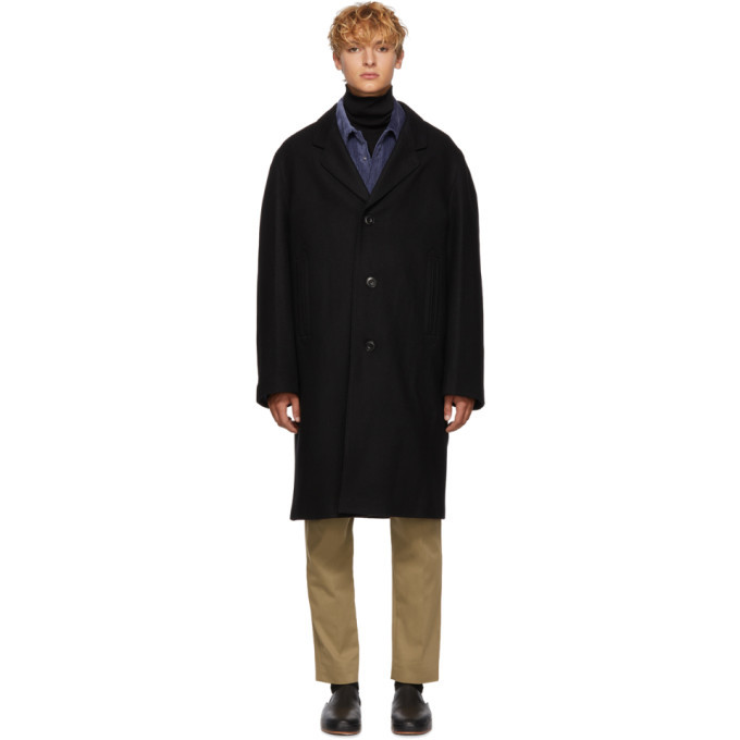 Photo: Lemaire Black Chesterfield Coat