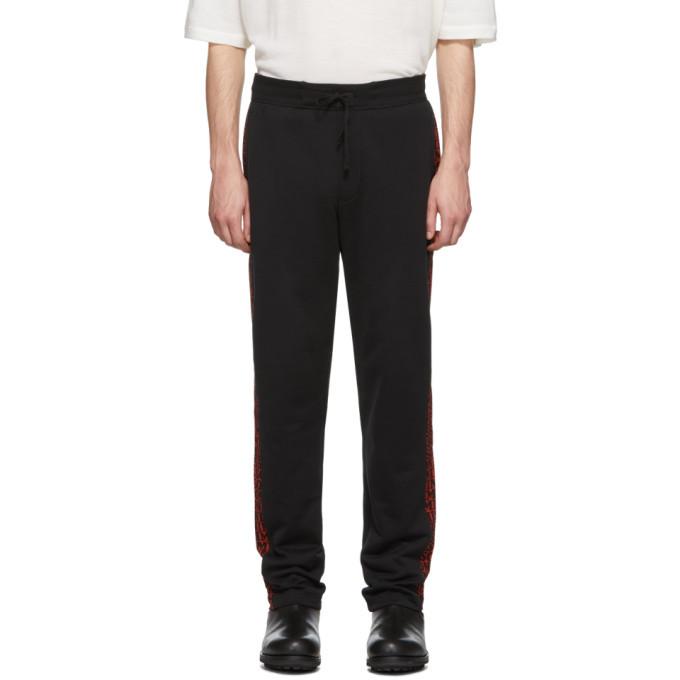 Photo: Missoni Black All-Over Logo Lounge Pants