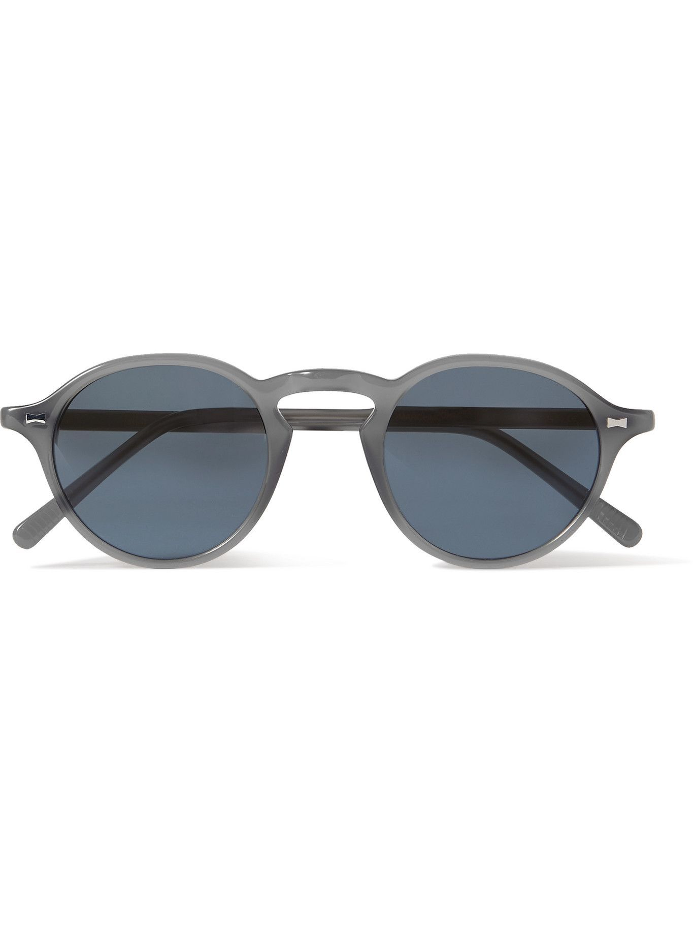 Photo: Cubitts - Marchmont II Round-Frame Acetate Sunglasses