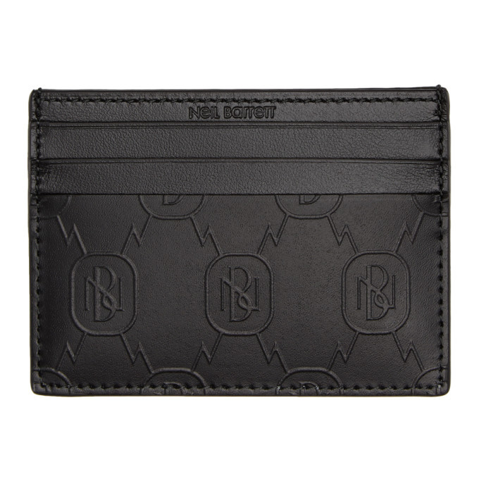Photo: Neil Barrett Black Monogram Cardholder