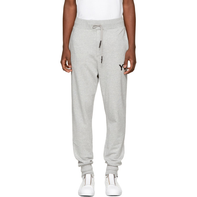 Photo: Y-3 Grey Classic Cuffed Lounge Pants