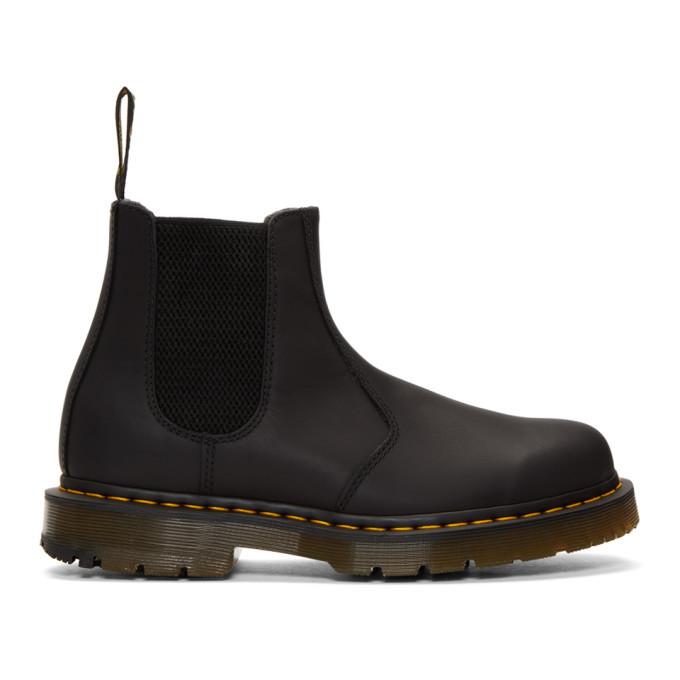 Photo: Dr. Martens Black Wintergrip 2976 Chelsea Boots