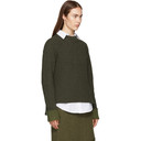3.1 Phillip Lim Green Wool-Blend Sweater