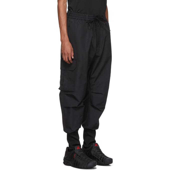 Y-3 Black Cargo Pants