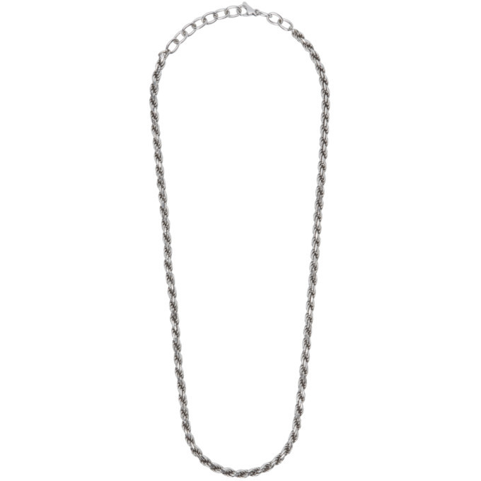 Photo: Bottega Veneta Silver Chain Necklace