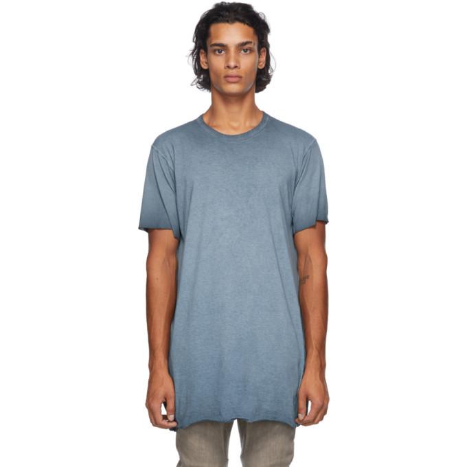 Photo: Boris Bidjan Saberi Blue Resin-Dyed T-Shirt
