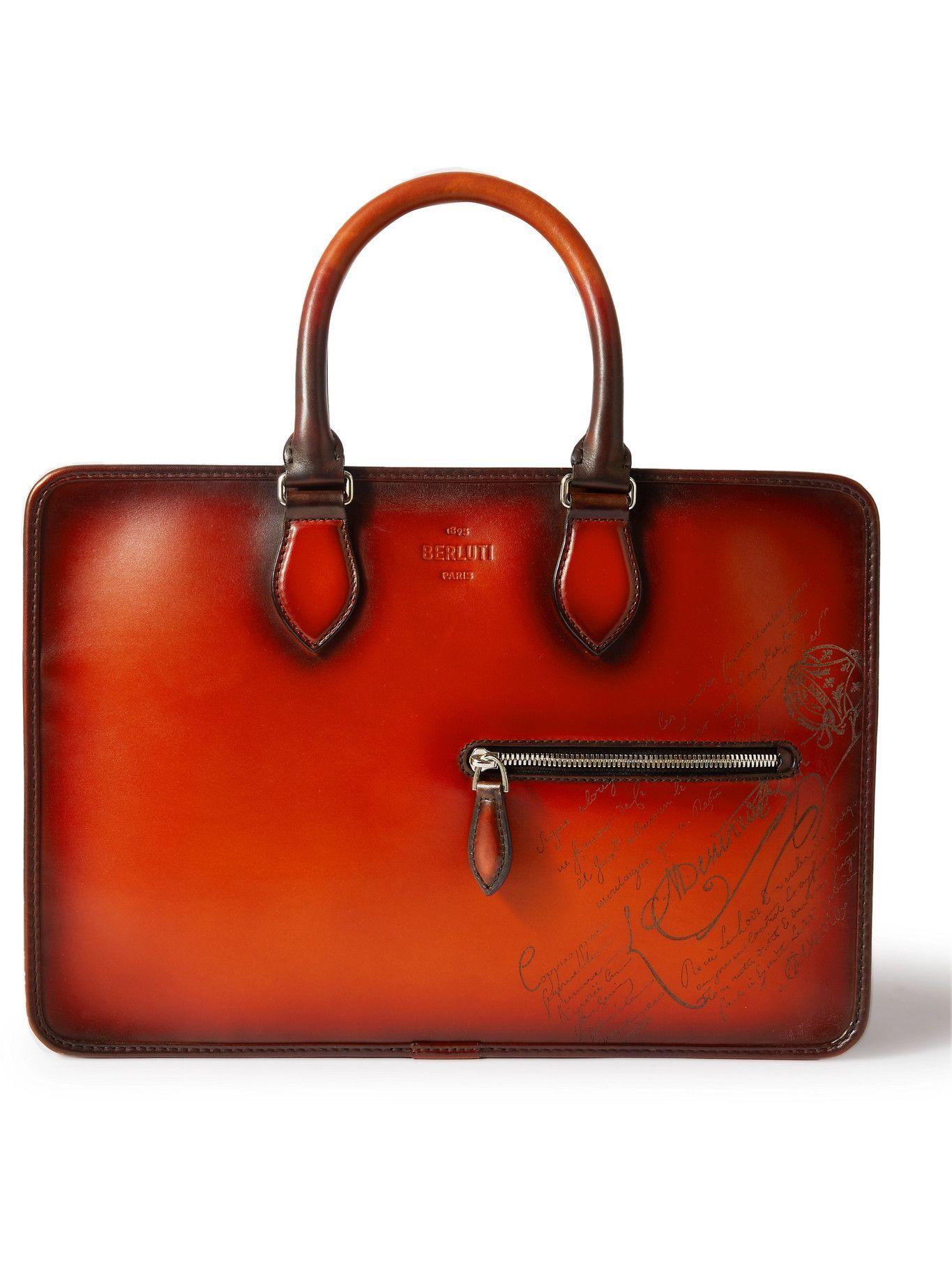 Photo: Berluti - Scritto Venezia Leather Briefcase