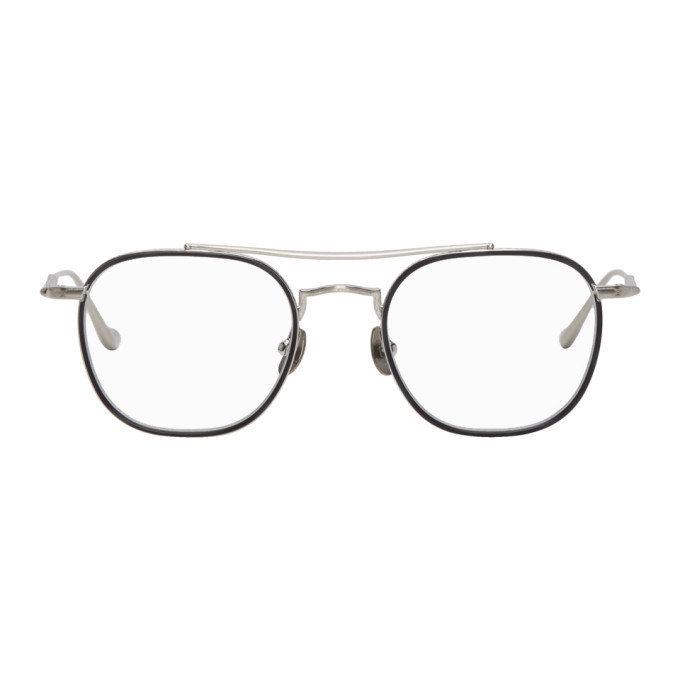 Photo: Matsuda Silver Brushed M3077 Glasses