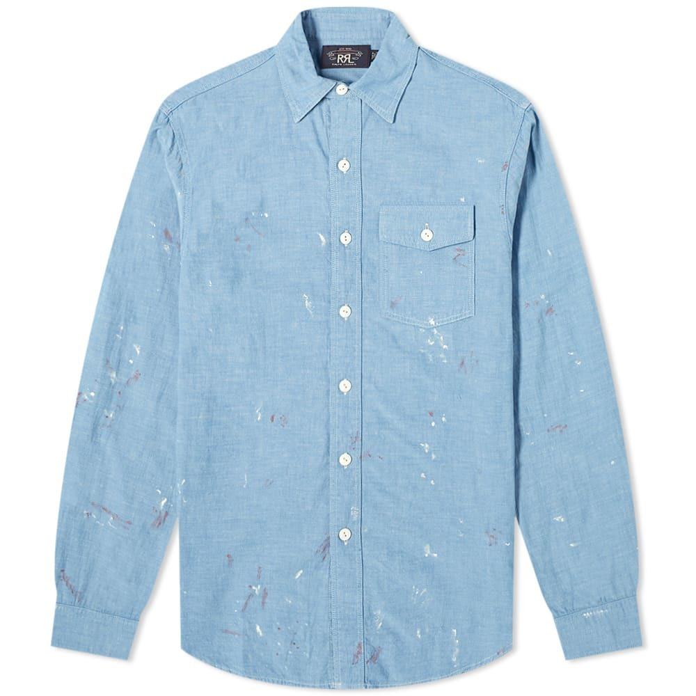 RRL Reed Paint Splatter Shirt