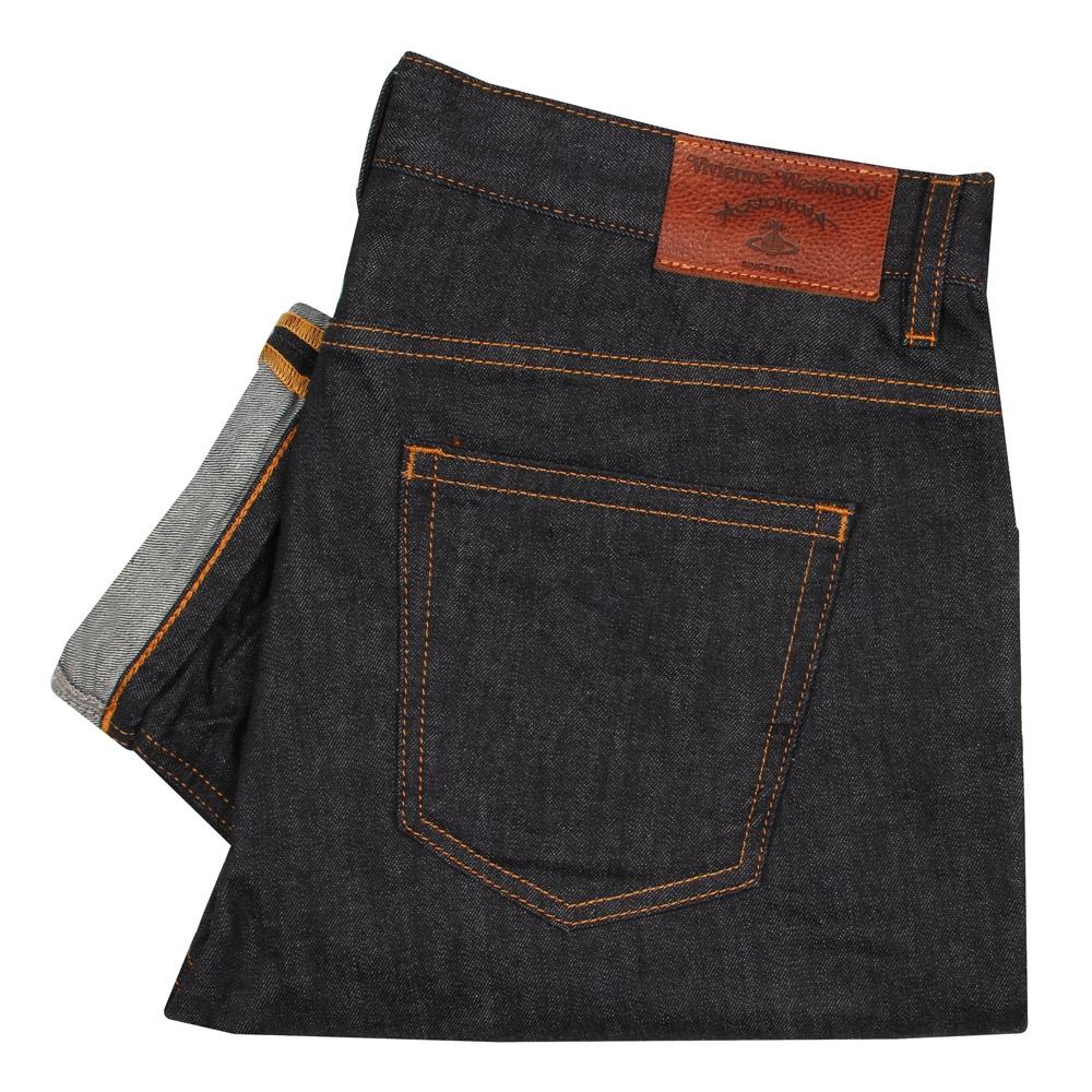 1ba1b2a62f2 Westwood Denim Tapered Classic Vivienne Jeans Blue 1XBwT