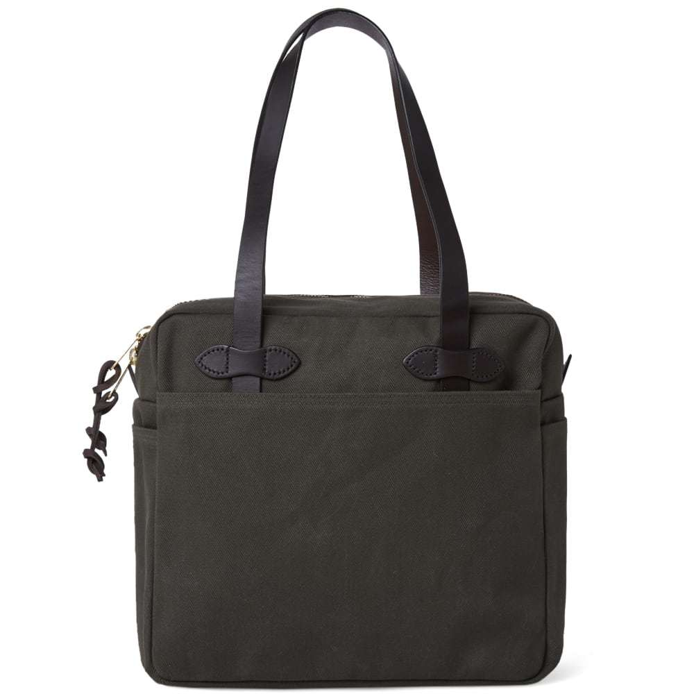 Filson Zip Tote Bag Green