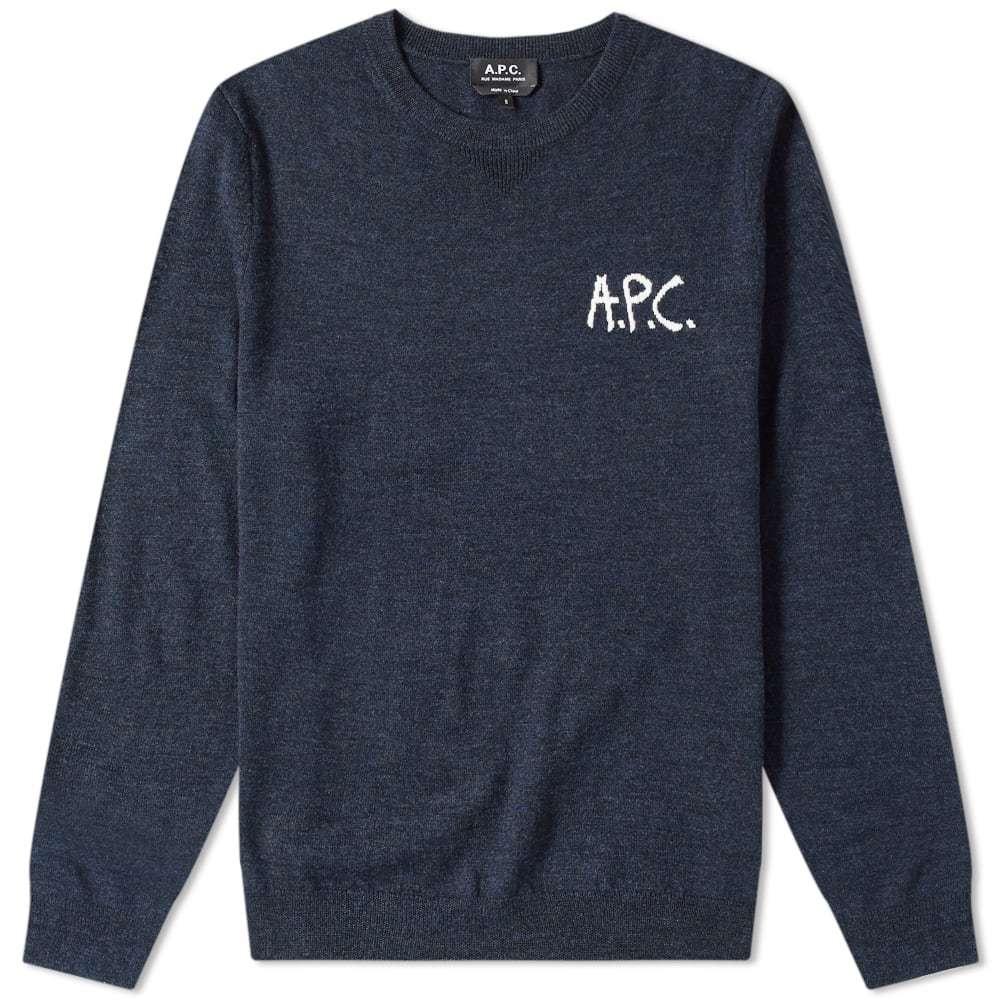 A.P.C. Sapiens Logo Crew Knit
