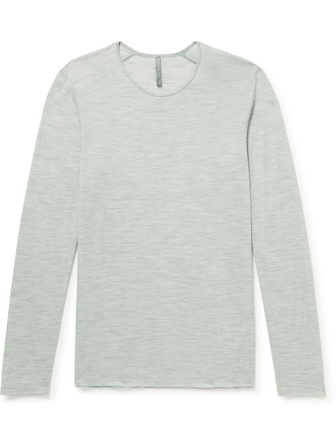 Photo: Veilance - Frame Wool-Blend T-Shirt - Gray