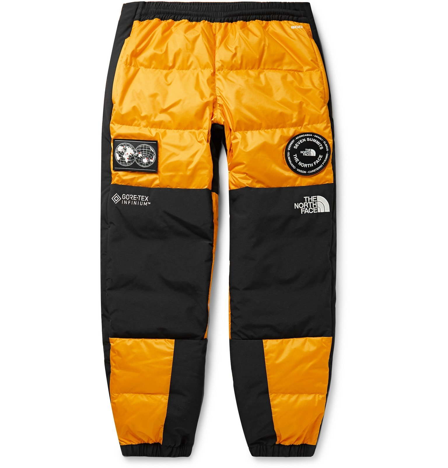 Photo: The North Face - 7SE Panelled GORE-TEX Down Trousers - Yellow