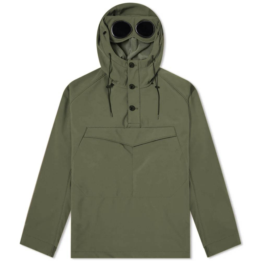 Photo: C.P. Company Popover Goggle Soft Shell Smock