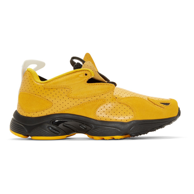Photo: Reebok by Pyer Moss Yellow Daytona DMX Experiment Sneakers
