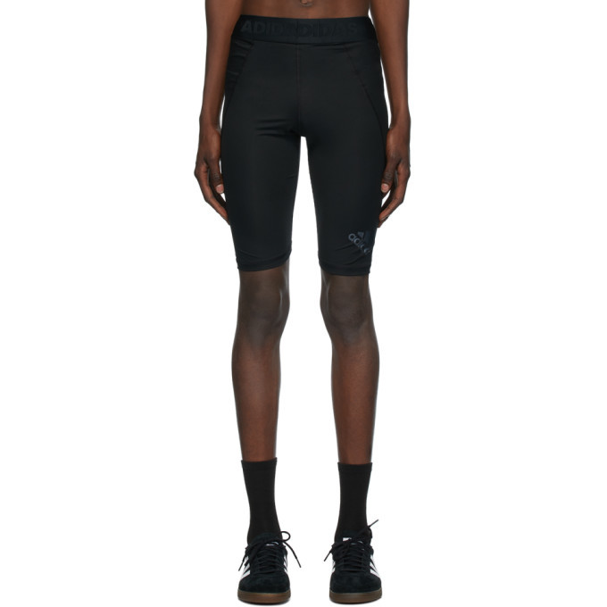 adidas Originals Black Alphaskin Sport Tight Shorts