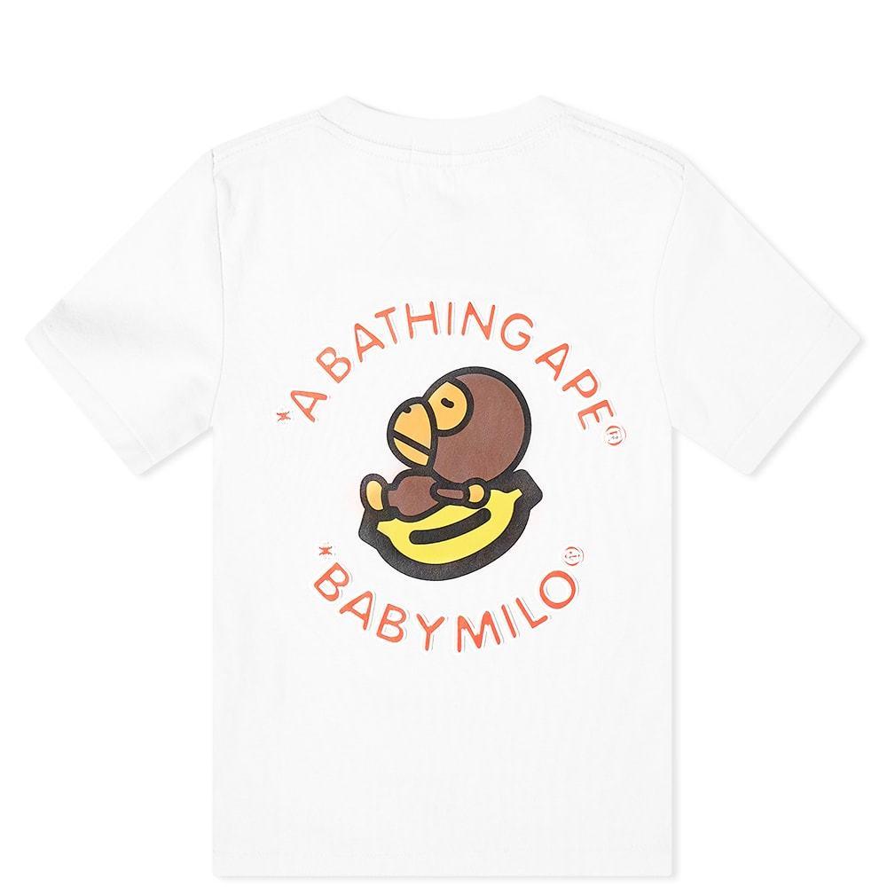 A Bathing Ape Kids Baby Milo & Banana Tee