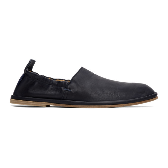 Photo: PS by Paul Smith Navy Cornelius Loafers