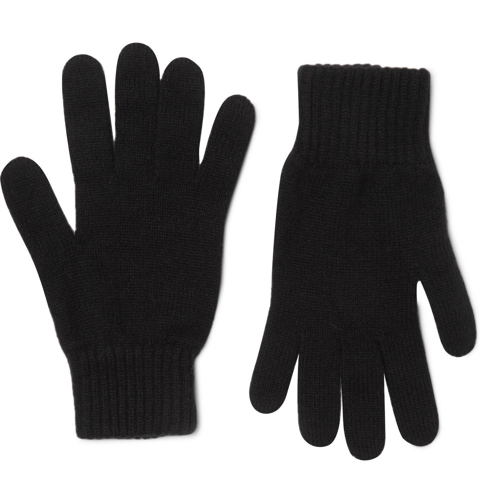 Photo: Johnstons of Elgin - Cashmere Gloves - Black