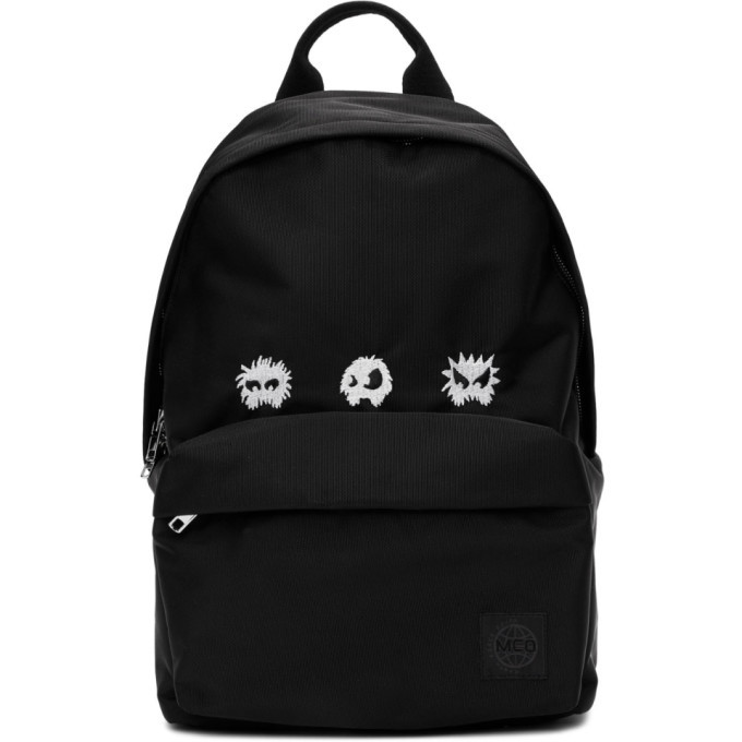 Photo: McQ Alexander McQueen Black Monster Classic Backpack