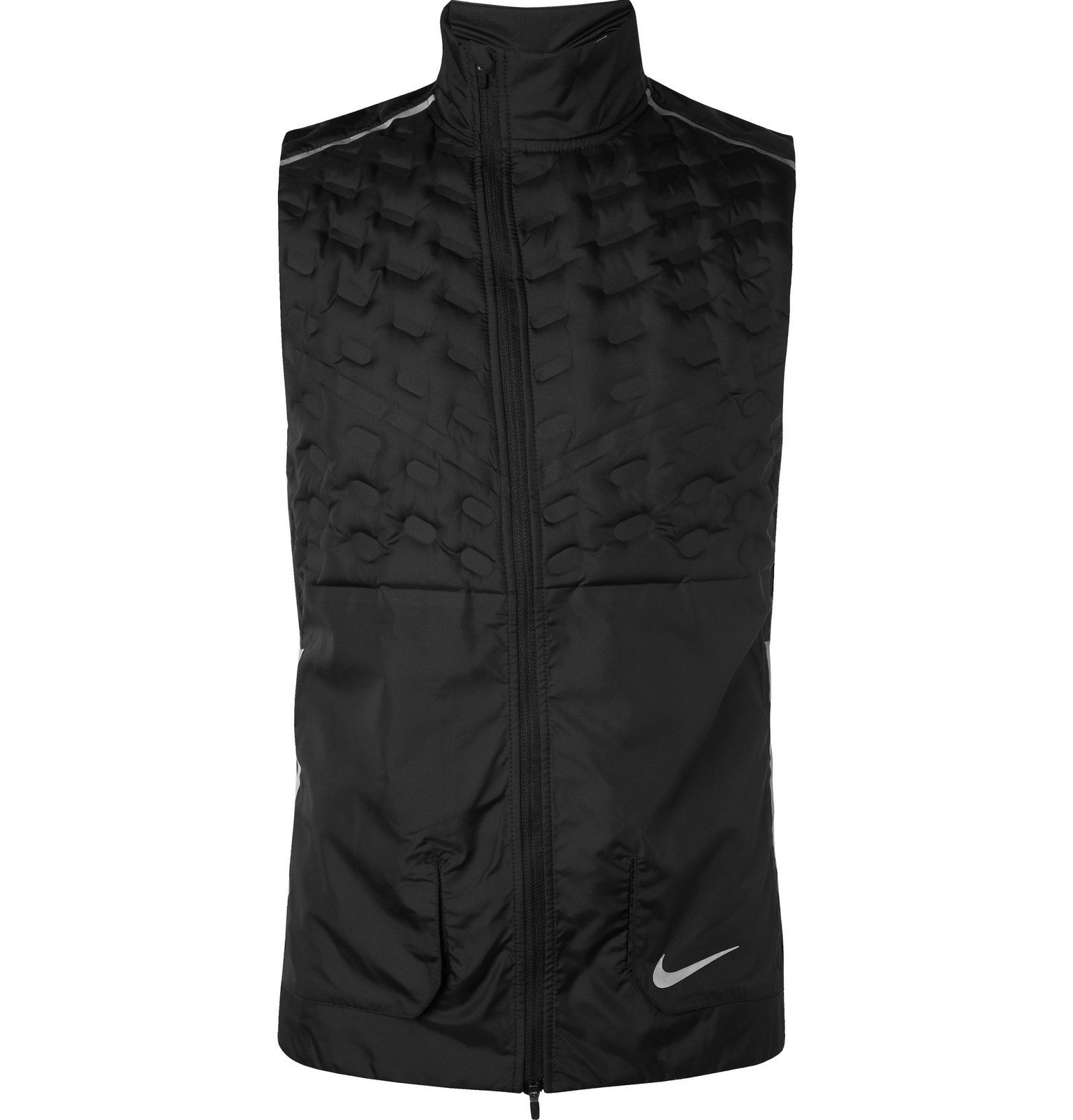 Nike Running - Aeroloft Quilted Shell Down Gilet - Black