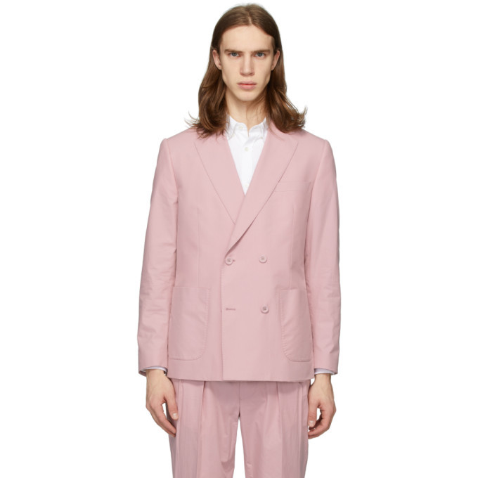 Photo: Officine Generale Pink Poplin Leon Blazer