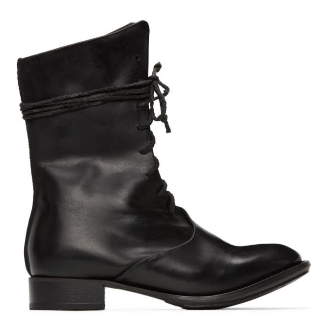Photo: Cherevichkiotvichki Black Overlap Boots
