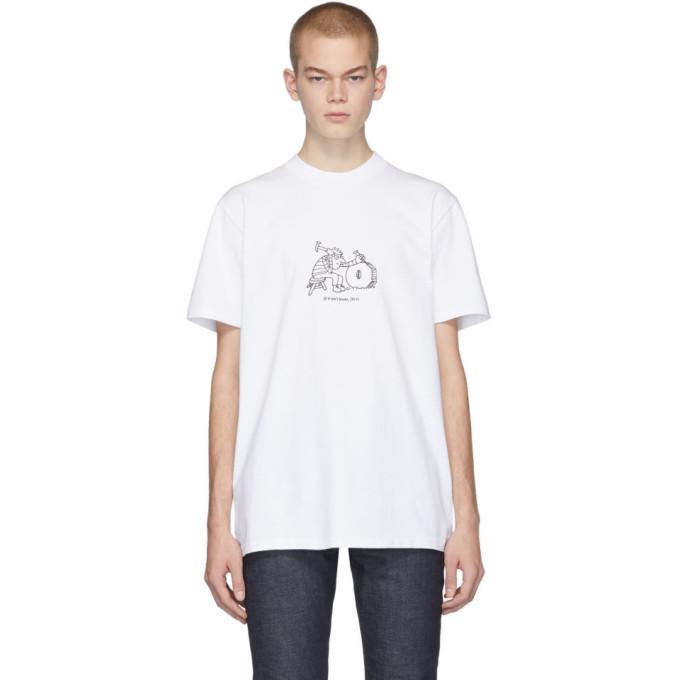 Photo: A.P.C. White JJJJound Edition Rough T-Shirt