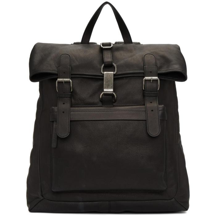 Photo: Ann Demeulemeester Black Soave Backpack