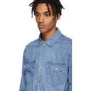 Ksubi Blue Denim De Nimes Archive Shirt