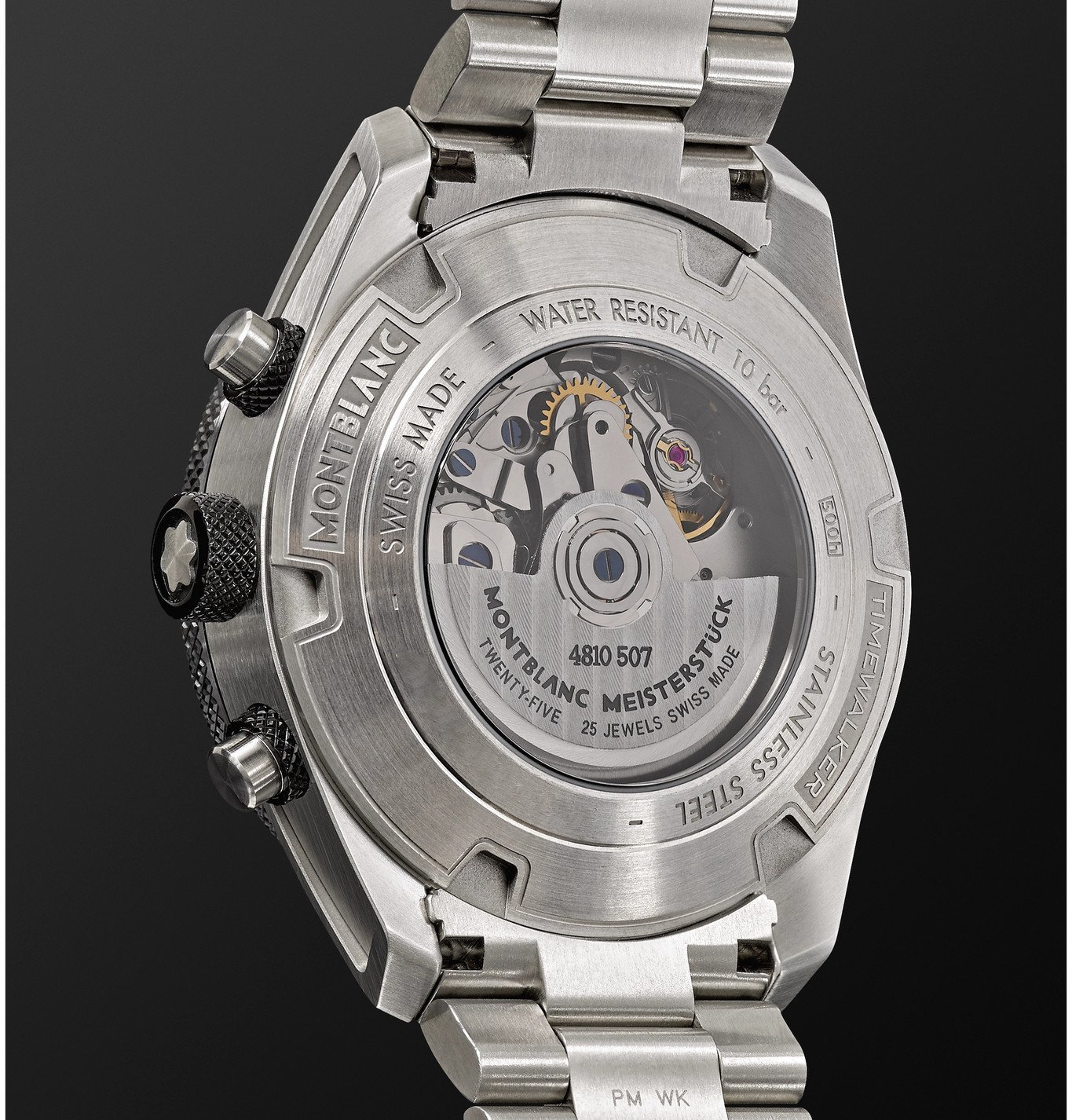 Montblanc - TimeWalker Chronograph Automatic 43mm Stainless Steel and Ceramic Watch, Ref. No. 116099 - Silver