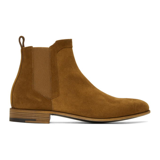 Photo: Pierre Hardy Brown Suede Drugstore Chelsea Boots