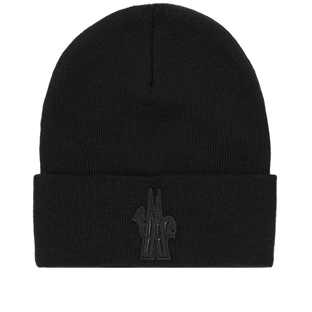 Photo: Moncler Grenoble Watch Logo Beanie
