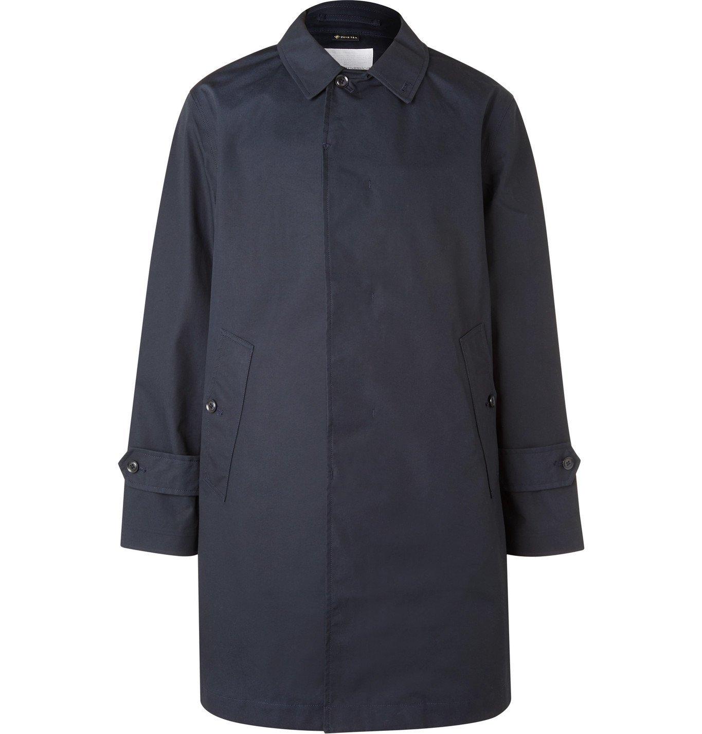 Photo: nanamica - GORE-TEX Cotton Coat - Blue