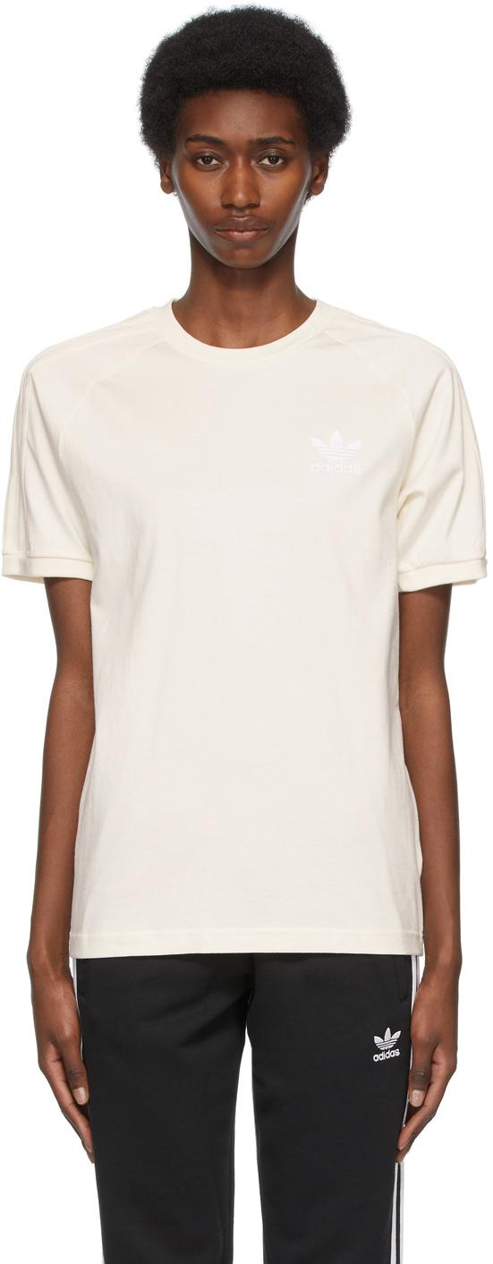 Photo: adidas Originals Off-White Adicolor 3-Stripes No-Dye T-Shirt